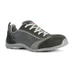Chaussure basse de sécurité en cuir velours - CS19 - GARSPORT