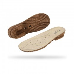 Semelle de confort en cuir pour sabots Wock CLOG