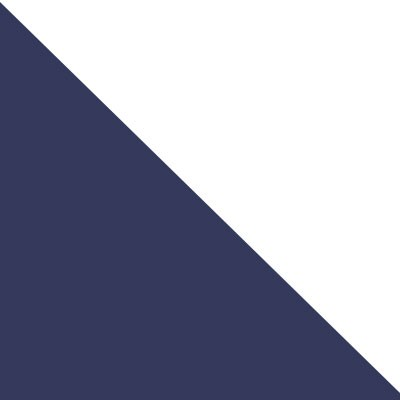 Bleu marine / blanc