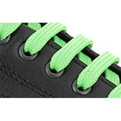Noir/lacets-vert